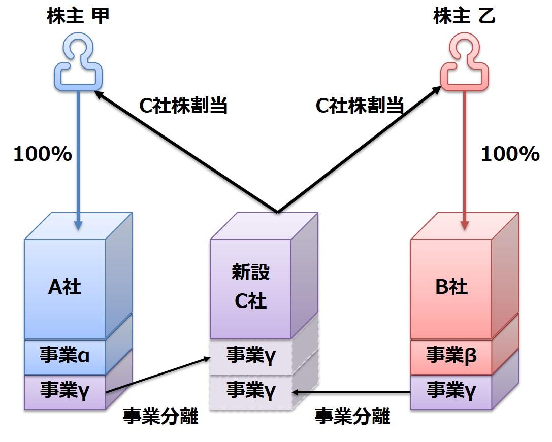 ④分割型共同新設分割